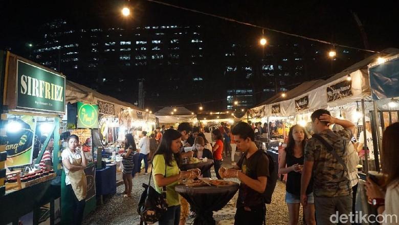 Foto: Tempat nongkrong milenial Filipina (Syanti Mustika/detikTravel)