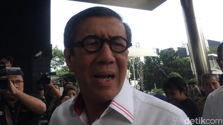 KPK Panggil Yasonna Laoly Jadi Saksi Kasus Korupsi e-KTP