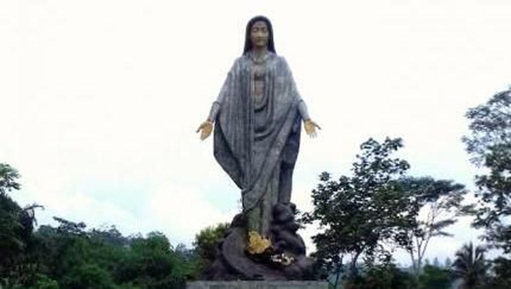 Mencari Ketenangan di Taman Doa Maria Ratuning Katentreman