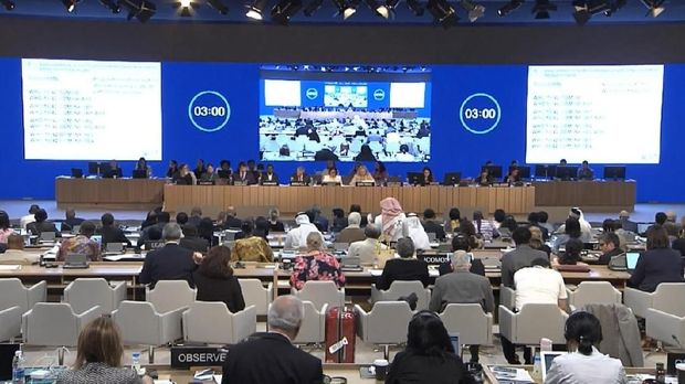 Forum the 42nd session of the World Heritage Committe UNESCO di Manama, Bahrain.