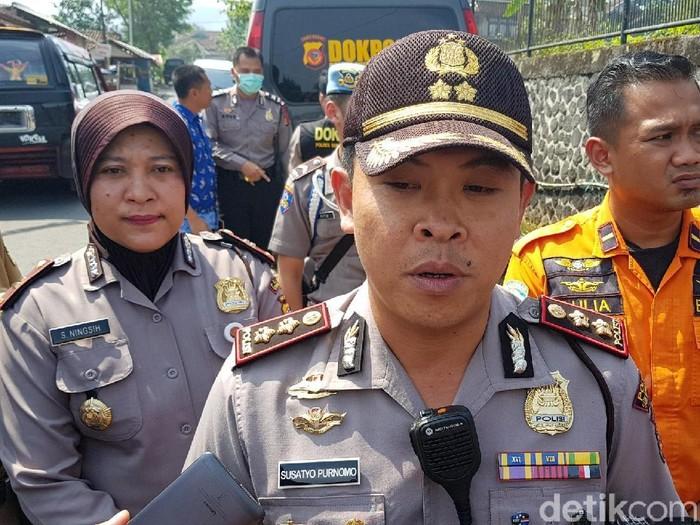 Kapolresta Sukabumi AKBP Susatyo Purnomo. (Foto: Syahdan Alamsyah/detikcom)