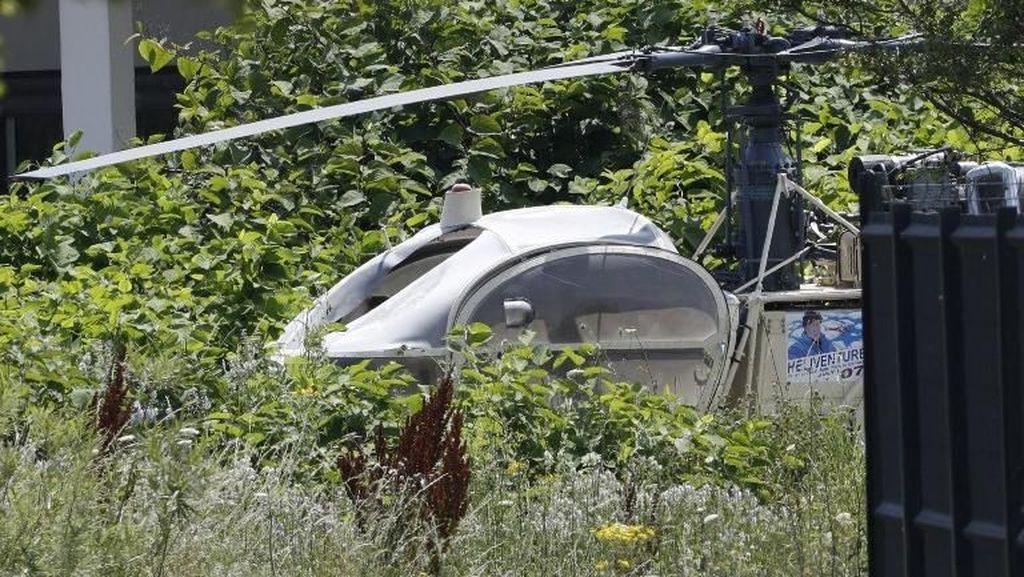 Gangster Prancis Ditangkap Usai Kabur dari Penjara dengan Helikopter