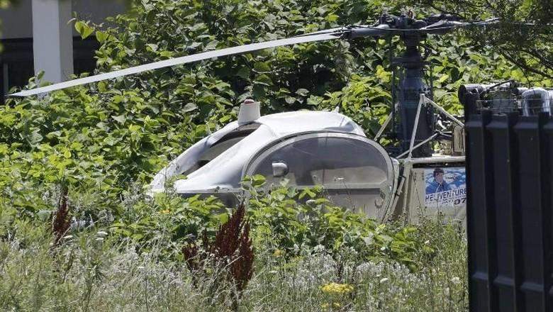 Prancis Buru Gangster yang Kabur dari Penjara dengan Helikopter