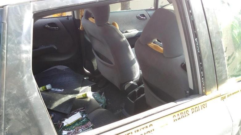Tegang! Ini Detik-detik Polisi Kejar Lalu Tembaki Mobil di Sleman