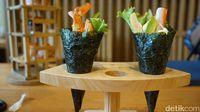 Sushi Sen : Wah, Di Sini Sushi Disajikan Ngebul Berasap!
