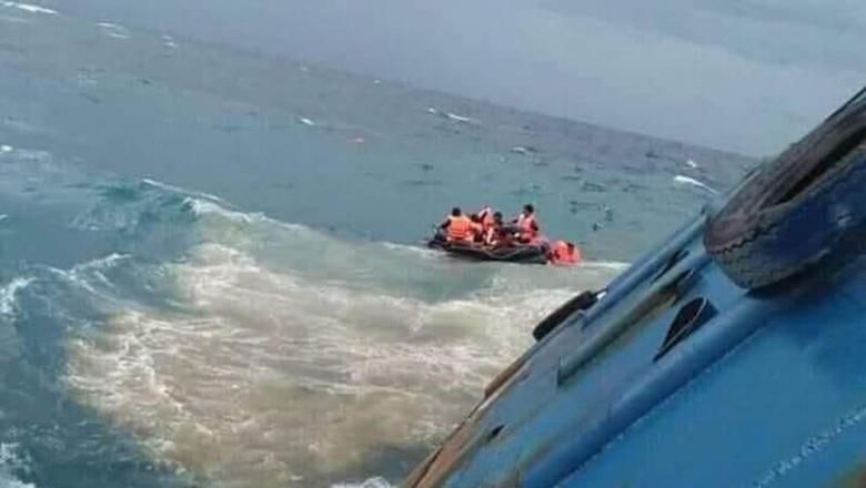 KM Lestari Maju Tenggelam di Selayar karena Bocor Lambung