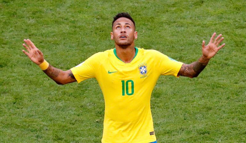 Neymar masih jadi andalan timnas Brasil di Piala Dunia 2018 (David Gray/Reuters)