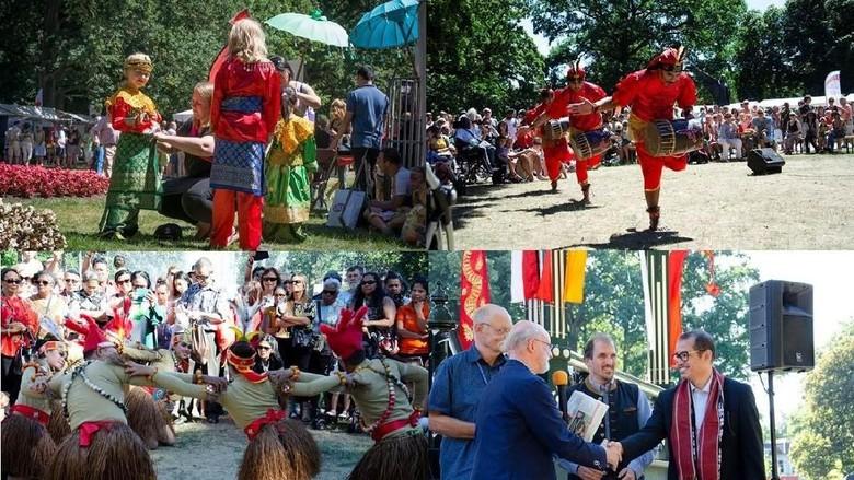 Foto: Promosi Indonesia di WorldProef Culture Belanda (dok KBRI Den Haag)