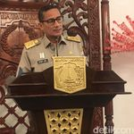 Sandi Sebut NJOP Jakarta Rata-rata Naik 19,54%