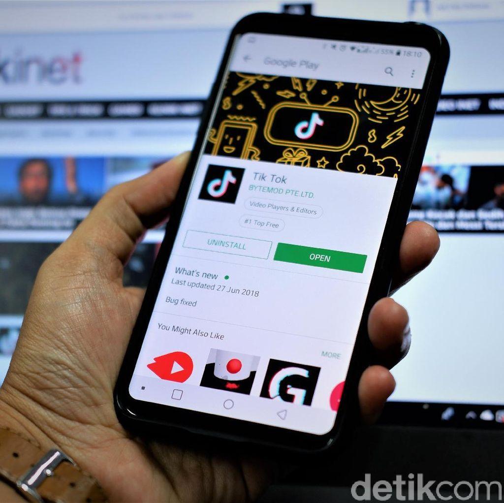 TikTok Jadi Aplikasi Terbaik di Play Store