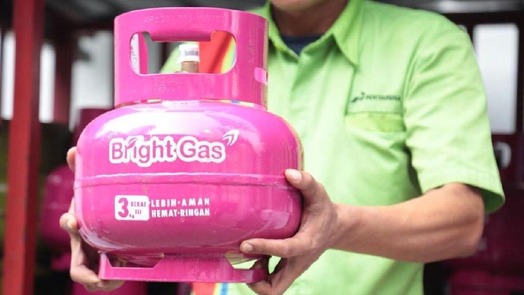 Ini Dia Penampakan Bright Gas 3 Kg Non Subsidi