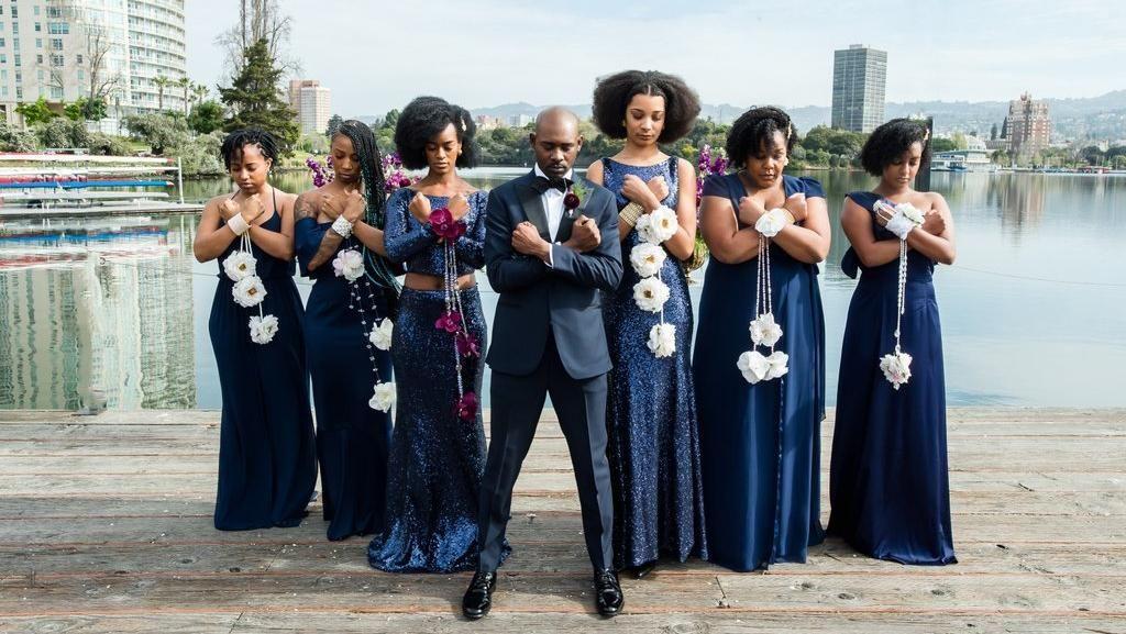 Wakanda Forever! Foto Prewedding Unik Ini Bertema Black Panther