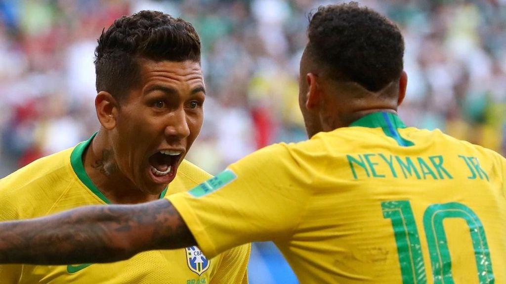 Ini Gol Neymar-Firmino yang Antar Meksiko Mudik