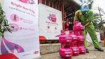 Di Lampung, Be   li Bright Gas Gratis Pertalite Saat Hari Sumpah Pemuda