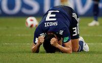 Timnas Jepang kalah 2-3 dari Belgia di 16 Besar Piala Dunia 2018.