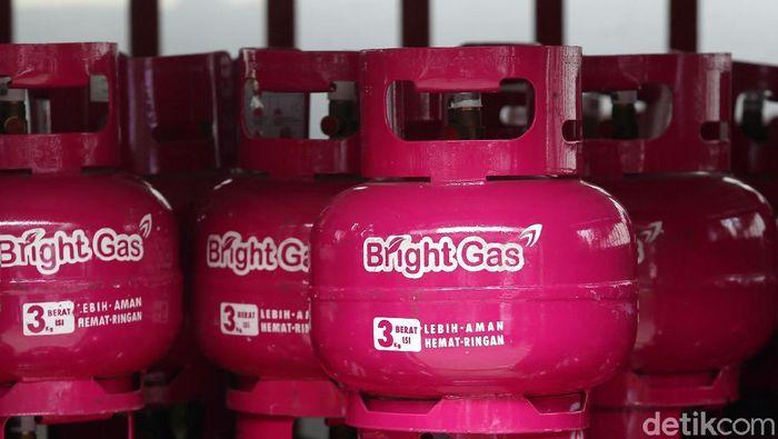 Bright Gas 3 Kg/Foto: Ari Saputra