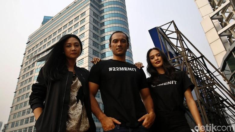 Rio, Hana, dan Mryna (Rachman Haryanto/detikTravel)