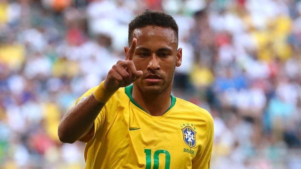 Gol dan Assist Neymar yang Selamatkan Brasil