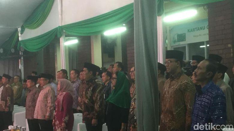 Bareng Anies, JK Hadiri Halalbihalal NU dan Ultah ke-64 Said Aqil