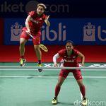 Greysia/Apriyani Juga Tersingkir dari BWF World Tour Finals