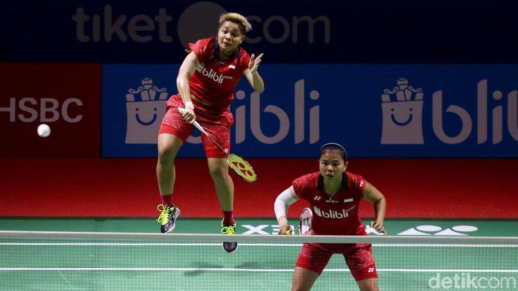 Greysia/Apriyani Lolos ke Babak Kedua Indonesia Open 2018