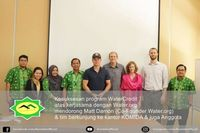 Matt Damon di Jakarta, Indonesia.