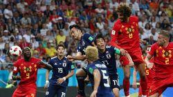 Saksi Tangisan Jepang dan Senyum Belgia di Piala Dunia 2018