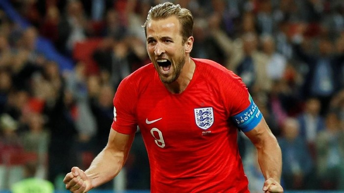 Harry Kane punya pola makan yang disiplin. Foto: John Sibley/Action Images via Reuters