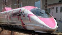 Kawai! Kereta Shinkansen Hello Kitty Resmi Beroperasi