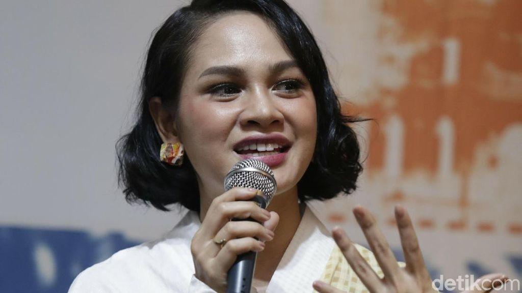 Saat Andien Lakukan Trauma Healing pada Anak Korban Gempa Lombok