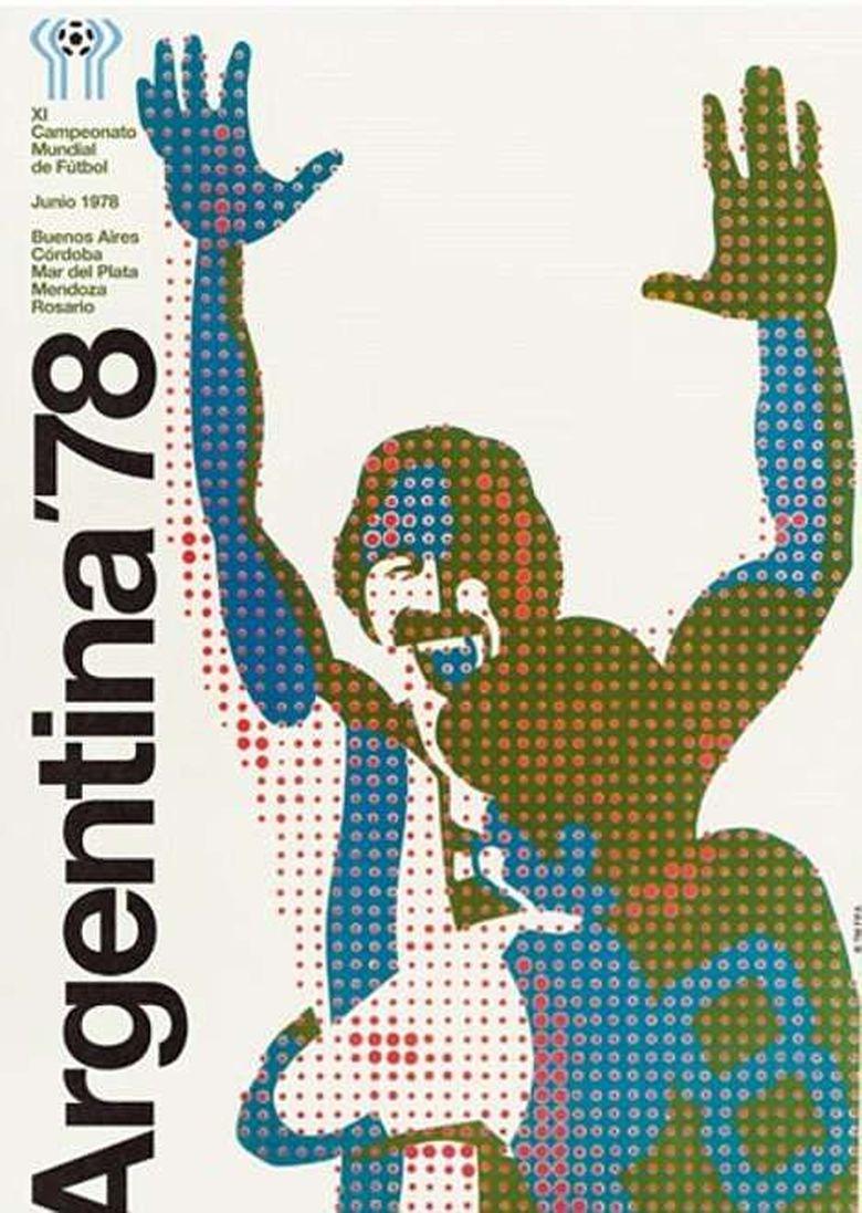 Tak hanya Yayoi Kusama saja yang menggilai dots tapi juga terlihat di poster tahun 1978 (Argentina). Foto: dok.mailonline
