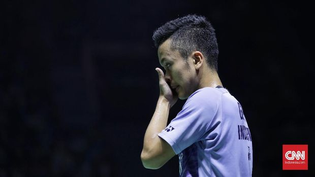 Anthony Ginting satu-satunya wakil Indonesia di final China Terbuka 2018.