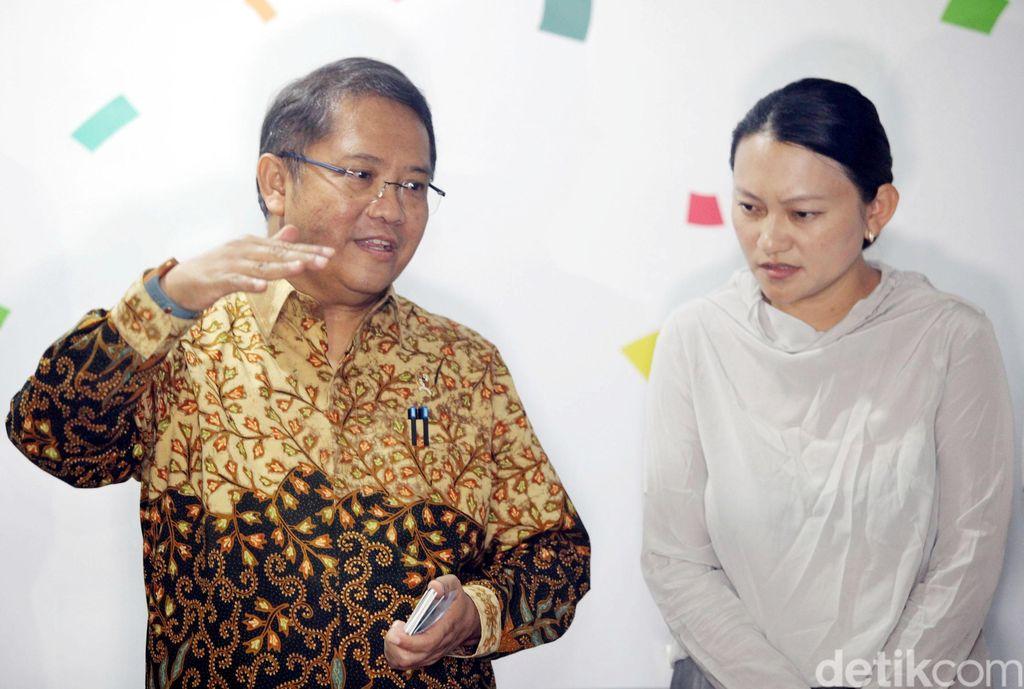 Pertemuan tersebut dilakukan di Gedung Kominfo, Jakarta.