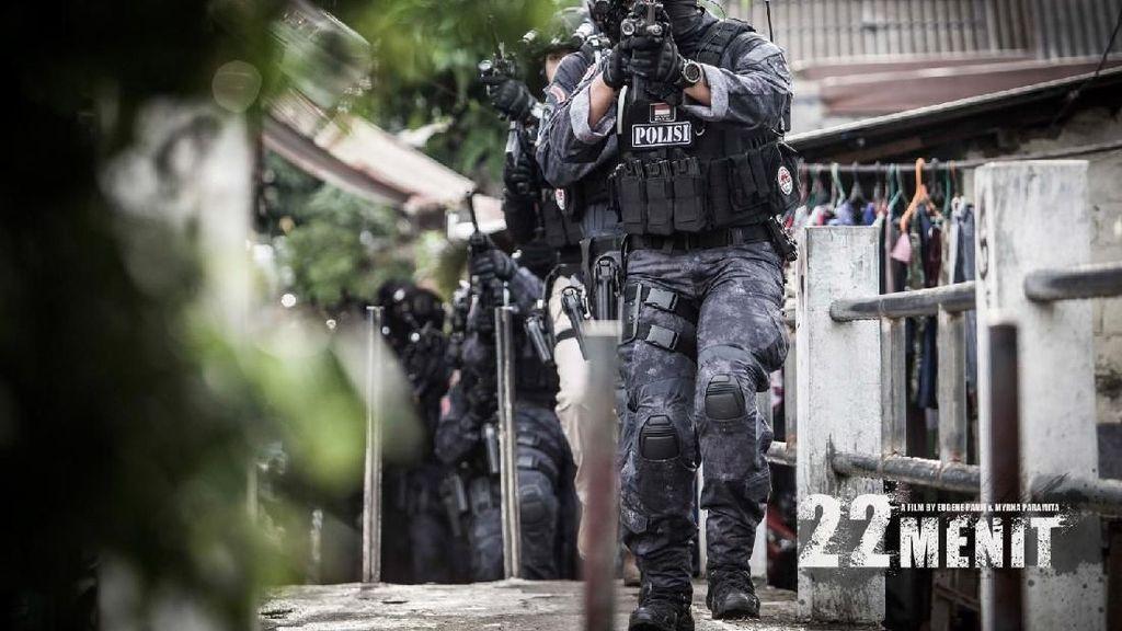 Fakta Menarik Film 22 Menit dari Teknologi hingga Latihan Tembak