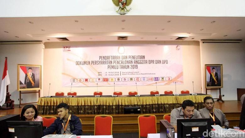 KPU Buka Pendaftaran Bakal Caleg DPR RI