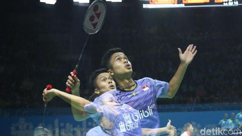 Singkirkan Chen Long, Anthony Ginting Jejak Semifinal China Terbuka