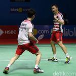 Jadwal Semifinal China Terbuka 2018: Kevin/Marcus Hadapi Ganda China