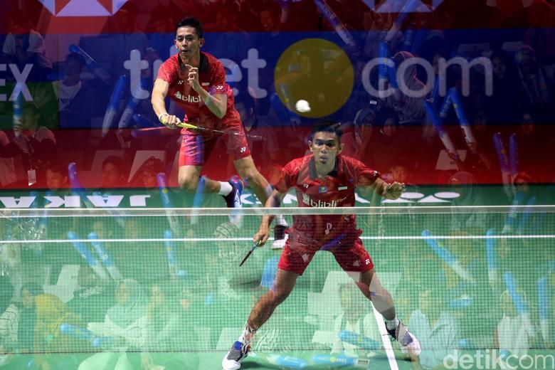 Jepang Keok Lawan Fajar/Rian di Indonesia Open