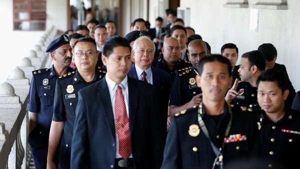 Najib Mengaku Tak Bersalah, Hakim Tetapkan Jaminan Rp 3,5 M
