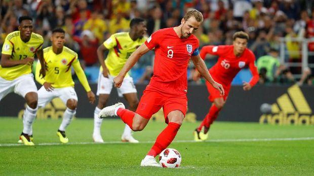 Harry Kane merupakan pemain kedua Inggris yang menjadi pencetak gol terbanyak di Piala Dunia setelah Garry Lineker.