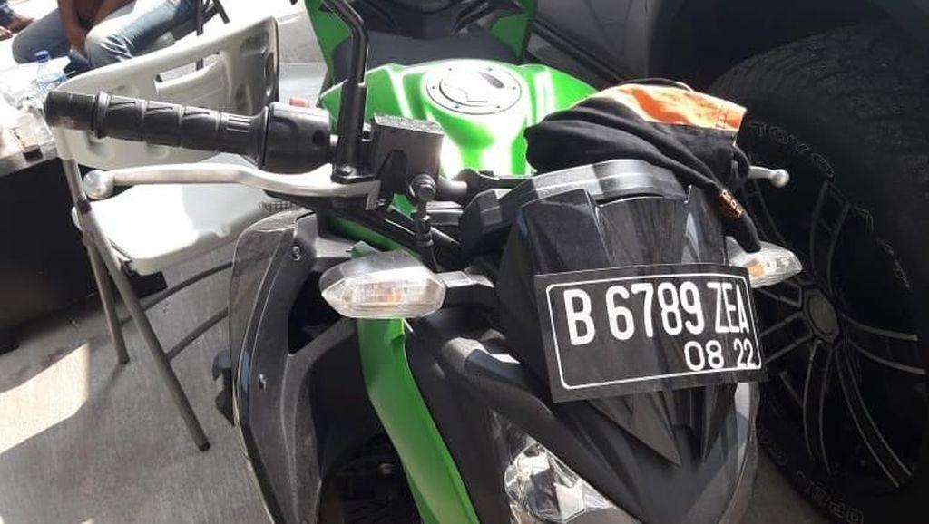 Terlalu, Masak Maling Jual Kawasaki Ninja Rp 1,5 Juta ke Penadah