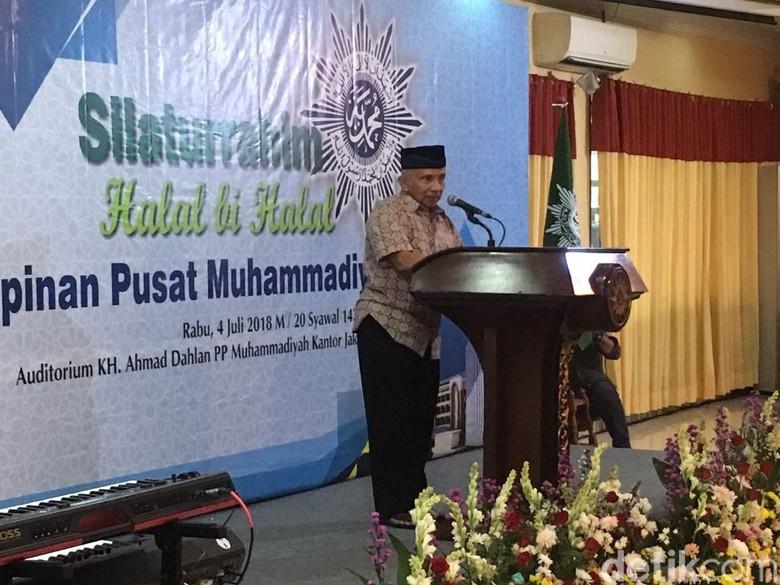 Amien Rais Bertekad Kalahkan Jokowi: Enough Is Enough