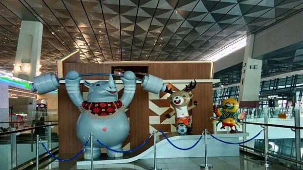 Bandara Soekarno Hatta bakal lebihs ibuk mendekati dan selama Asian Games 2018.