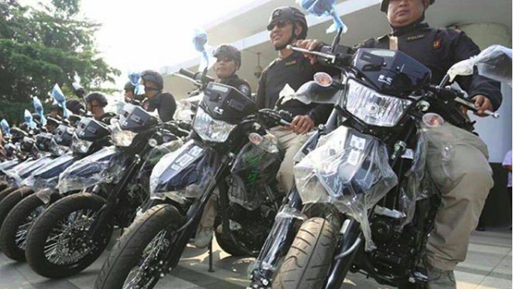 Ridwan Kamil Sumbang Motor Kawasaki ke Polisi Buat Kejar Penjahat