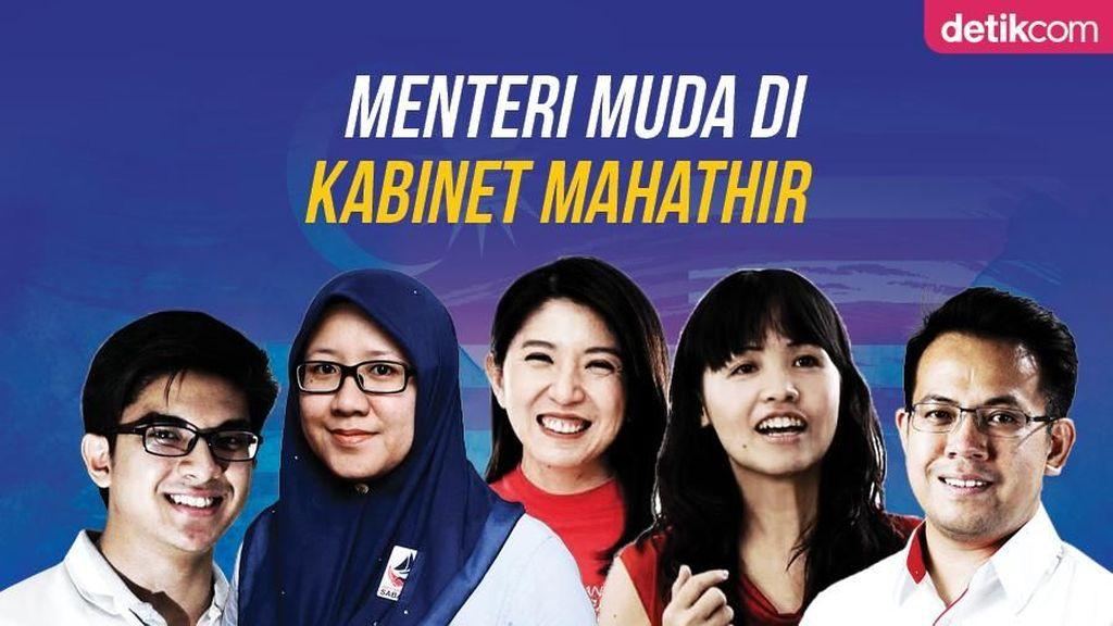 Sederet Menteri Berusia Muda di Kabinet Mahathir