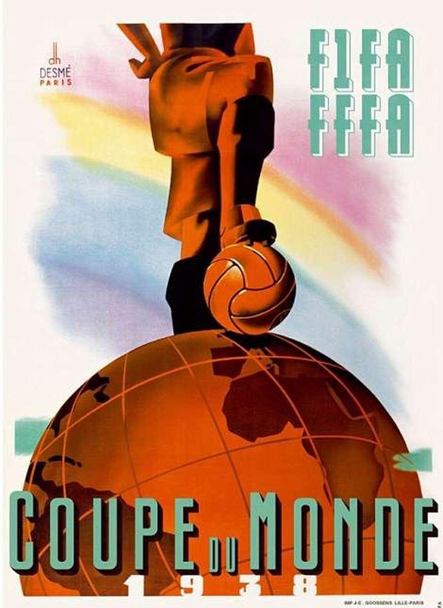 Bergaya Art Deco hingga Picasso, Ini Macam-macam Poster Piala Dunia