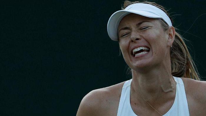 Maria Sharapova tersingkir di babak pertama Wimbledon (Foto: Peter Nicholls/Reuters)