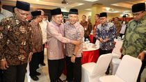 Momen Pelukan JK dan Amien Rais di Halalbihalal Muhammadiyah