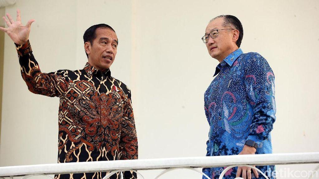 Jokowi Terima Presiden Bank Dunia di Istana Bogor