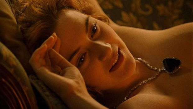 Cuplikan film 'Titanic'.